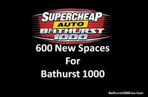 Bathurst 1000 adds new campsite, 600 new spaces for 2018