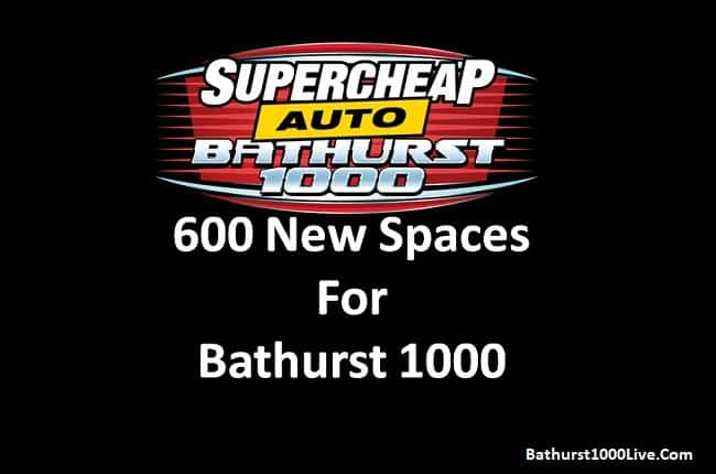 Bathurst 1000 adds new campsite