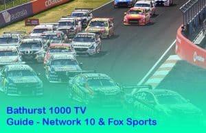 Bathurst 1000 TV Guide